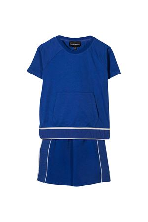 Emporio Armani kids T-shirt and shorts set EMPORIO ARMANI KIDS | 75988882 | 3K4VJF4JJEZ0921