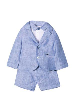 Completo azzurro Emporio Armani Kids EMPORIO ARMANI KIDS | 75988882 | 3KH8014N50ZF909