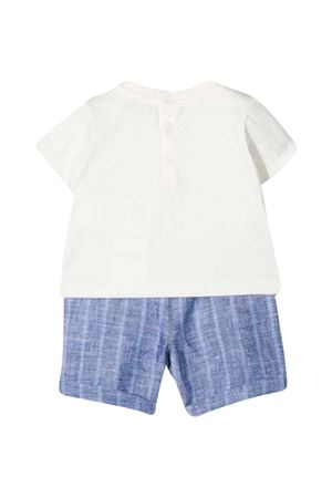 Set 3 pezzi bianco e blu Emporio Armani kids EMPORIO ARMANI KIDS | 75988882 | 3KH8024N50ZF908