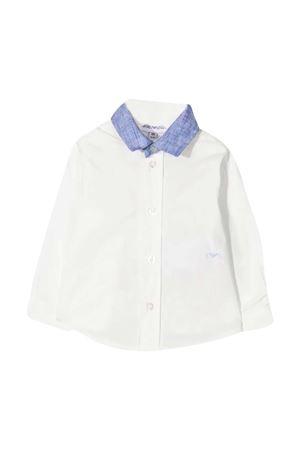 Camicia bianca con collo blu Emporio Armani kids EMPORIO ARMANI KIDS | 6 | 3KHC023N3SZ0101