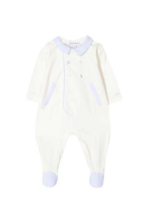 White Emporio Armani Kids baby suit  EMPORIO ARMANI KIDS | 1491434083 | 3KHD794N54ZF703