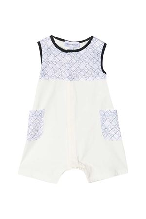 White Emporio Armani Kids baby suit  EMPORIO ARMANI KIDS | 1491434083 | 3KHD894N5GZF109