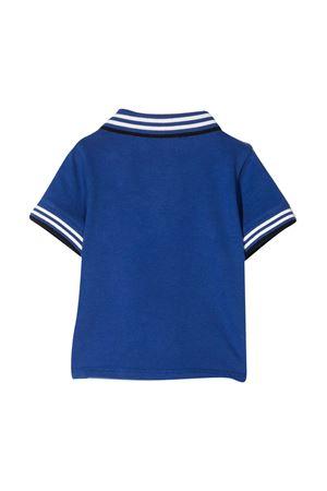 Polo blu con dettagli bianchi e neri Emporio Armani kids EMPORIO ARMANI KIDS | 2 | 3KHFA41JPTZ09A7