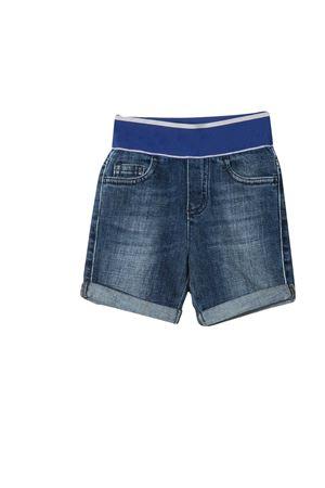 Bermuda denim con dettaglio blu Emporio Armani Junior EMPORIO ARMANI KIDS | 5 | 3KHS044D2JZ0942