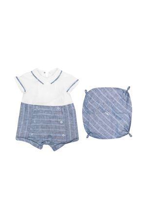 Emporio Armani Kids checked jumpsuit EMPORIO ARMANI KIDS | 75988882 | 3KHV734N50ZF908