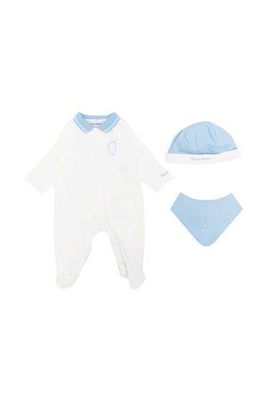 White and blue baby set Emporio Armani kids EMPORIO ARMANI KIDS | 75988882 | 3KHV794JGCZ0104