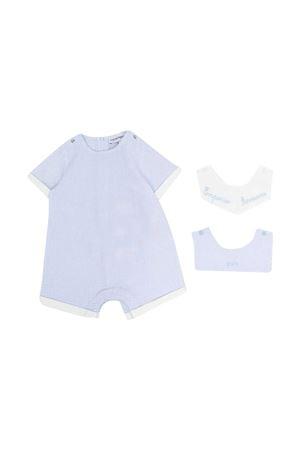 Emporio Armani Kids striped jumpsuit EMPORIO ARMANI KIDS | 75988882 | 3KHV864N54ZF703