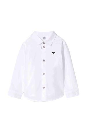 Camicia con logo Emporio Armani kids EMPORIO ARMANI KIDS | 5032334 | 8NHC014NGDZ0100