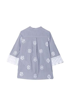 Blusa blu a righe Ermanno Scervino junior ERMANNO SCERVINO JUNIOR | 5032334 | ESFCA002CR214WS0034011