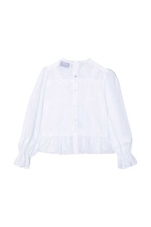 Blusa bianca teen Ermanno Scervino junior ERMANNO SCERVINO JUNIOR | 5032334 | ESFCA011CA17WSUNI1B021T