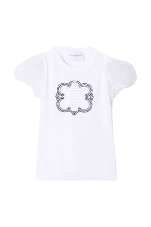 T-shirt bianca Ermanno Scervino junior ERMANNO SCERVINO JUNIOR | 8 | ESFTS003JE95WS004B012