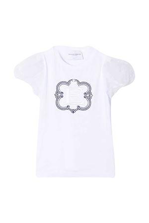 T-shirt bianca teen Ermanno Scervino junior ERMANNO SCERVINO JUNIOR | 8 | ESFTS003JE95WS004B012T