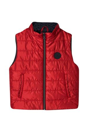 Padded vest with Fay Kids application FAY KIDS | 38 | 5O2122OX310409