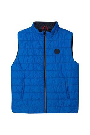 Padded vest with Fay kids logo patch FAY KIDS | 38 | 5O2122OX310608