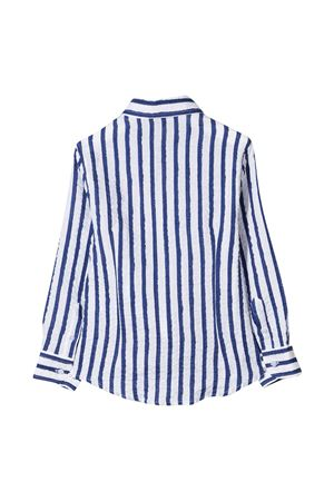 Camicia teen bianca a righe blu Fay kids FAY KIDS   5032334   5O5070OB320100BLT