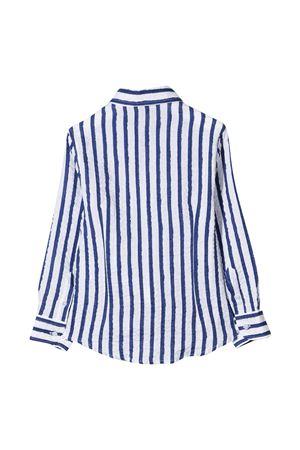 Camicia bianca a righe blu Fay kids FAY KIDS | 5032334 | 5O5070OB320100BL