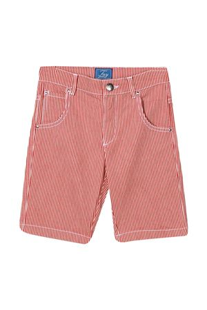Bermuda teen a righe rosse Fay kids FAY KIDS | 5 | 5O6079OX060409BCT