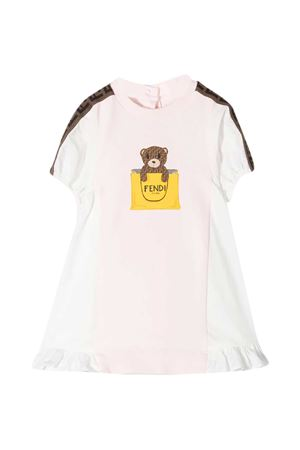 Pink Fendi Kids dress  FENDI KIDS | 11 | BFB347AEYZF0C11