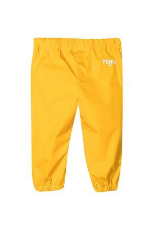 Yellow Fendi Kids trousers  FENDI KIDS | 9 | BFF140AEXZF1BW2