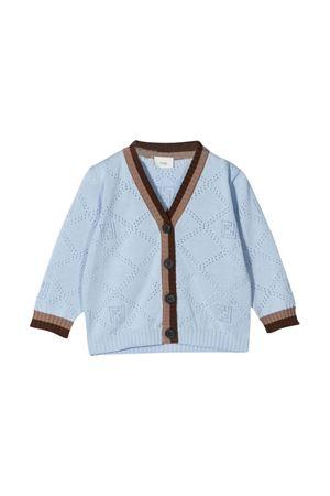 Cardigan azzurro Fendi Kids FENDI KIDS | 39 | BMG087AEXFF1D26