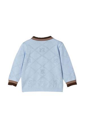Light blue Fendi Kids cardigan FENDI KIDS | 39 | BMG087AEXFF1D26