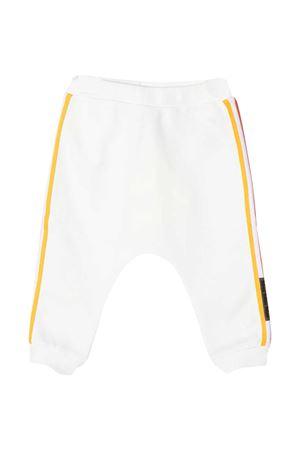 White trousers with side multicolor bands Fendi kids FENDI KIDS | 9 | BUF0275V0F1DEQ