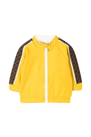 Yellow Fendi Kids jacket  FENDI KIDS | -108764232 | BUH023A69DF1BW2