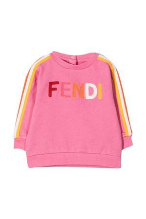 Pink Fendi Kids sweatshirt  FENDI KIDS   -108764232   BUH0255V0F1DER