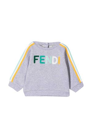 Gray Fendi Kids sweatshirt  FENDI KIDS   -108764232   BUH0255V0F1DEV