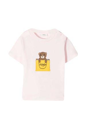 Pink Fendi Kids t-shirt  FENDI KIDS | 8 | BUI016ST8F0C11
