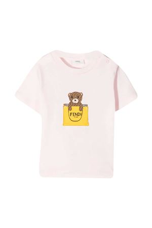 T-shirt rosa Fendi Kids FENDI KIDS | 8 | BUI016ST8F0C11