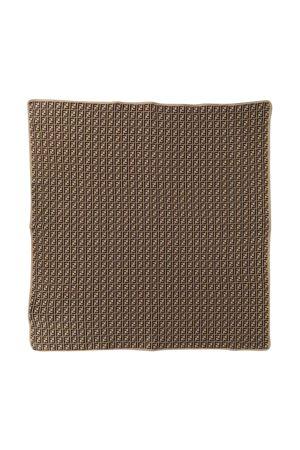 Brown Fendi kids blanket  FENDI KIDS | 69164127 | BUJ166A3TEF0LMJ
