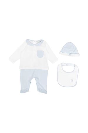 Blue Fendi kids baby set FENDI KIDS | 75988882 | BUK077A8LKF19J4