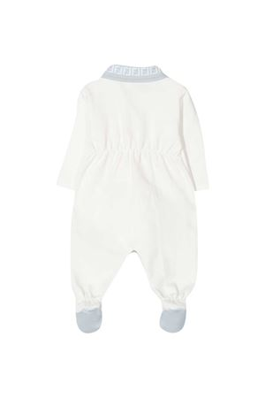 White Fendi kids baby suit FENDI KIDS | 1491434083 | BUL0578RAF19J4