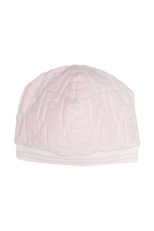 Pink Fendi kids cap  FENDI KIDS | 75988881 | BUP030ACA8F0C11