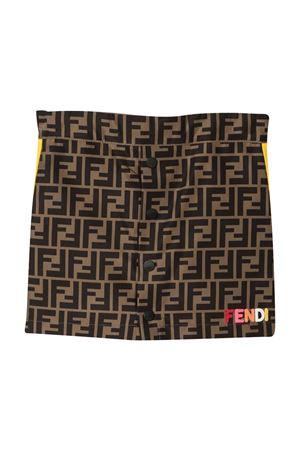 Gonna con trama logata Fendi kids FENDI KIDS | 15 | JFE060A8XWF1DEU