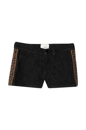 Shorts neri Fendi kids FENDI KIDS | 30 | JFF224AEXNF0GME