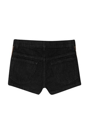 Shorts neri teen Fendi kids FENDI KIDS   30   JFF224AEXNF0GMET