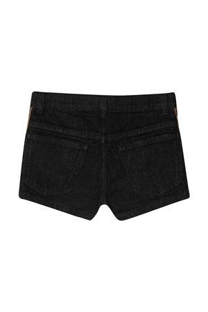 Fendi kids black denim shorts  FENDI KIDS   30   JFF224AEXNF0GME