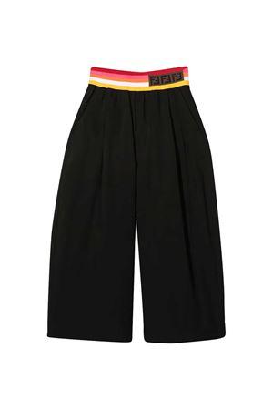Black Fendi Kids trousers  FENDI KIDS   9   JFF225AAC3F0GME