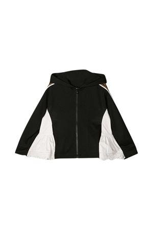 Black Fendi Kids sweatshirt  FENDI KIDS | -108764232 | JFH112AEXJF0GME