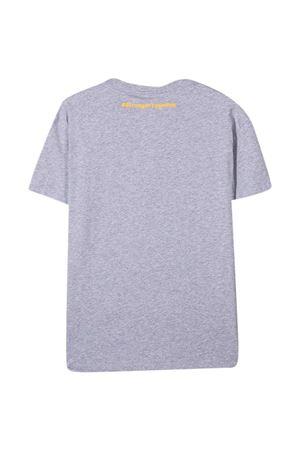 Fendi Kids gray t-shirt  FENDI KIDS | 8 | JFI2227AJF0WG5