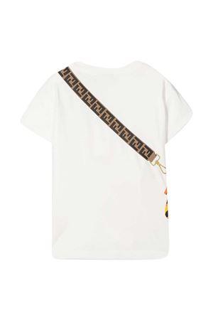 White Fendi Kids t-shirt  FENDI KIDS | 8 | JFI2237AJF0TU9