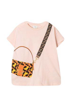 Pink Fendi Kids t-shirt  FENDI KIDS   8   JFI2237AJF16WG
