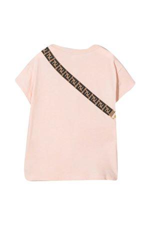 Fendi Kids pink teen t-shirt  FENDI KIDS   8   JFI2237AJF16WGT