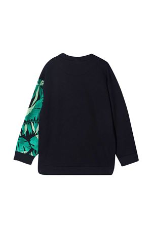 Fendi Kids blue teen sweatshirt  FENDI KIDS | -108764232 | JMH1455V0F0QB0T