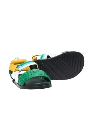 Fendi Kids green sandals  FENDI KIDS | 12 | JMR341AEGSF1D19
