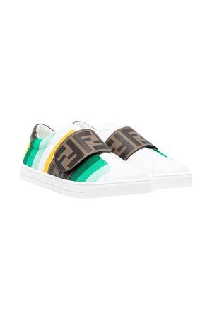 Sneakers bianche Fendi Kids FENDI KIDS | 90000020 | JMR360AEGJF1D0Z