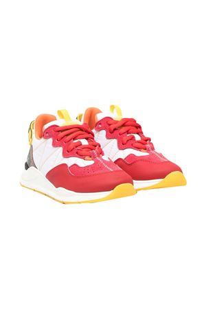 Sneakers with Fendi kids color-block design FENDI KIDS | 12 | JMR362AEGQF1D17