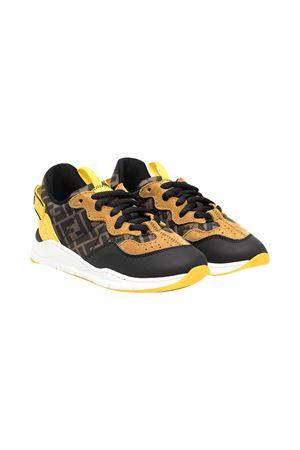 Fendi kids two-tone sneakers FENDI KIDS | 12 | JMR363AEGRF1D18